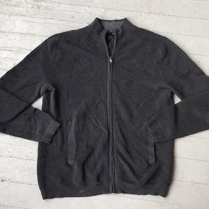 Men's textured banana Republic zip up jacket